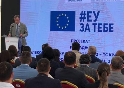 EU donira izgradnju 400 KV dalekovoda od Kragujevca do Kraljeva.
